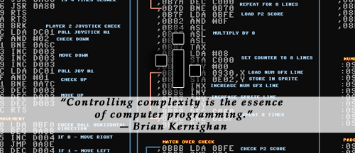 Controlling complexity is the essence of computer programming